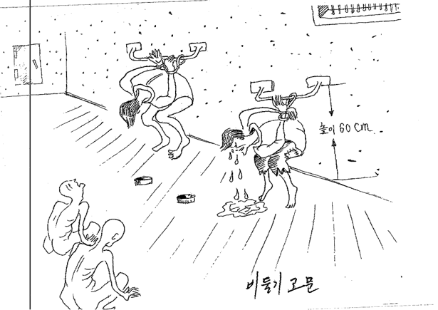 615x435 North Korea's Horrors, As Shown By One Defector's Drawings