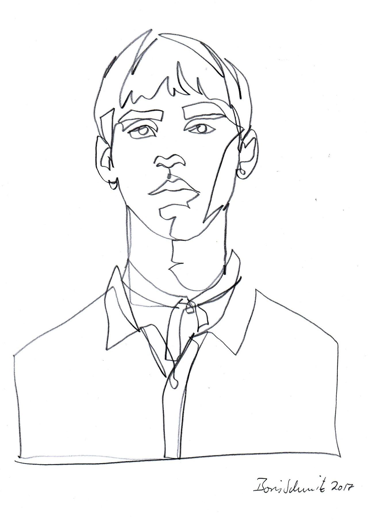 1280x1811 Boris Schmitz, 24 Years Old, Germany Drawing