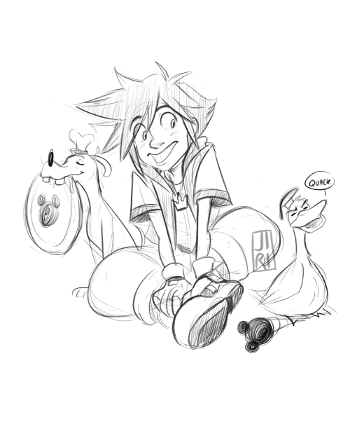 500x605 Toodletots Kingdom Hearts In A Nutshell. As A Kid I Always