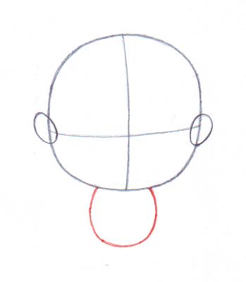 349x399 4 Ways To Draw A Baby