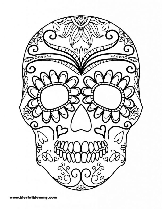 687x889 Coloring Pages Halloween For 10 Year Olds