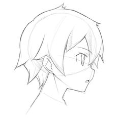 236x237 Steps To Draw Easy People How To Draw A Simple Anime Girl Step 6