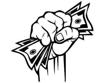 340x270 Dollar Bill Drawing Etsy