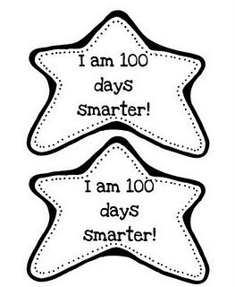 263x320 I Am 100 Days Smarter! Preschool Badges, School