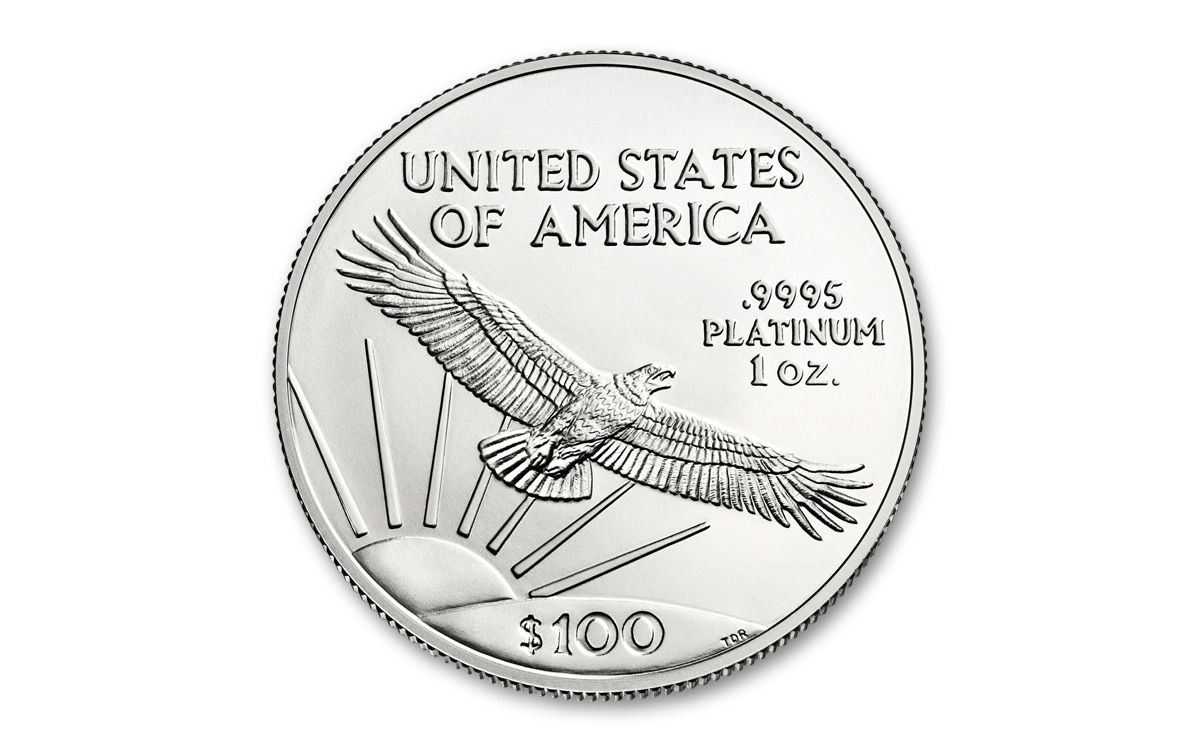 1200x750 2018 Us 1 Oz Platinum Eagle Bullion Coin Ngc Ms69 Fr