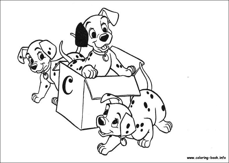 101 Dalmatians Drawing