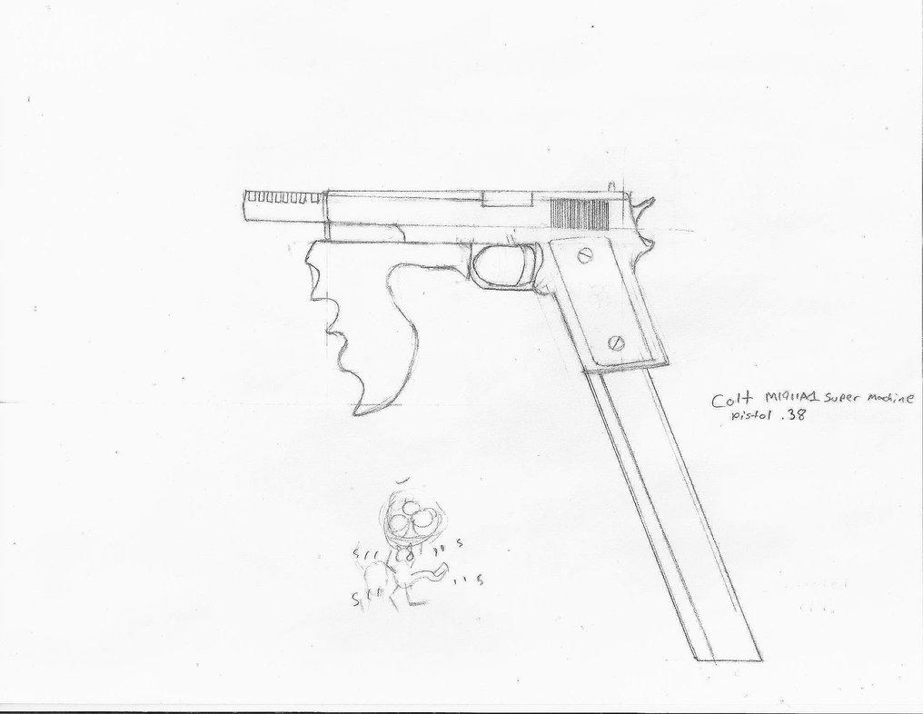 1016x786 Colt Super 38 M1911a1 Machine Pistol By Czproductions