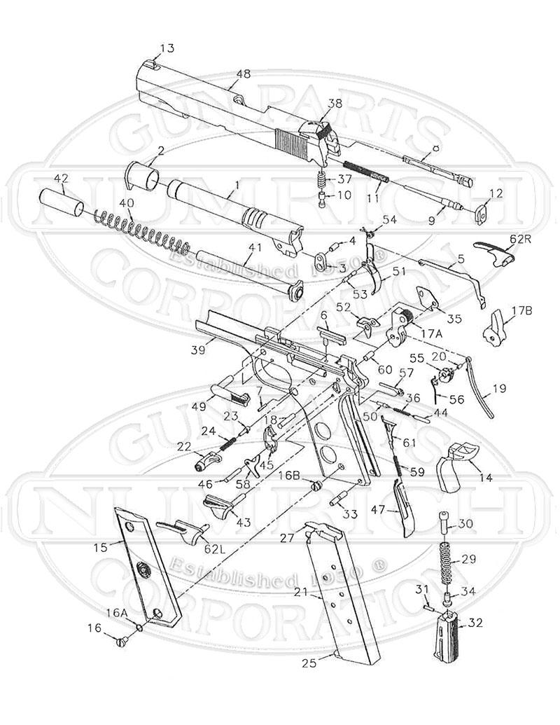 800x1035 Parts List Schematic Numrich