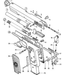 236x289 1911 Pattern Pistol Parts Diagram Good Things To Know