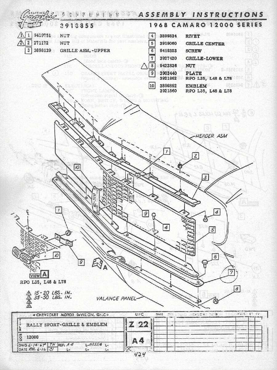 1969 camaro tail light wiring diagram