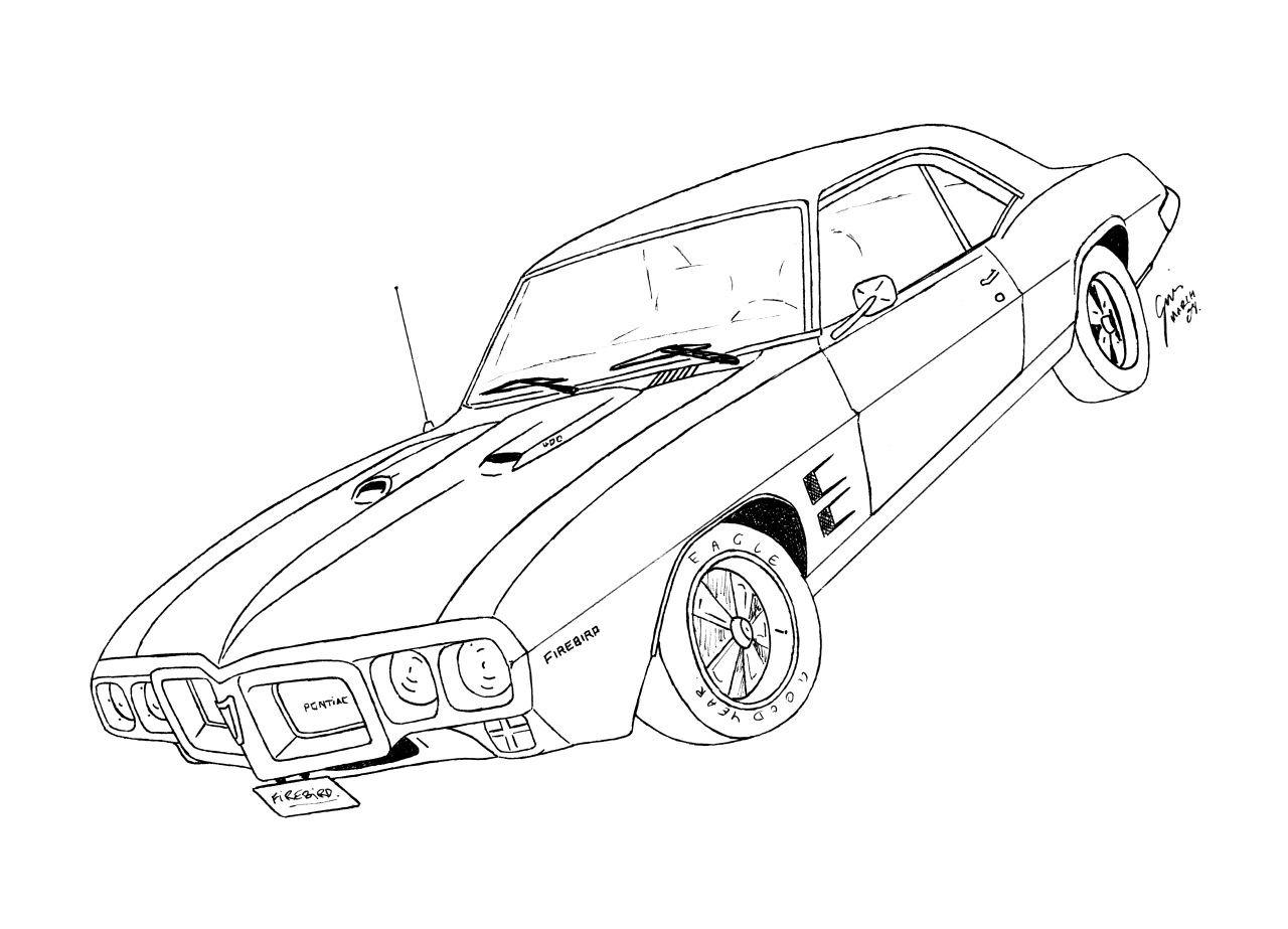 1280x923 Pontiac Firebird By Gjones1