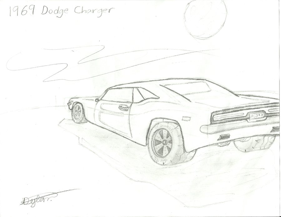 900x695 1969 Dodge Charger By Barracudacar