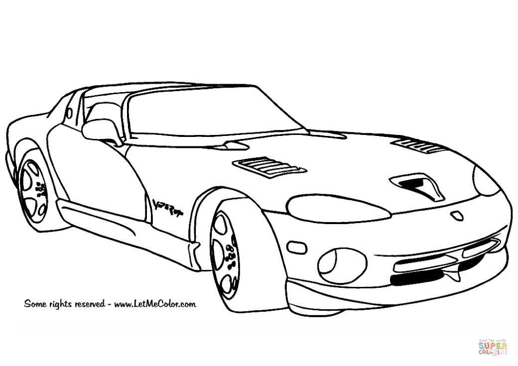 1040x735 Dodge Coloring Pages Coloring Page For Kids