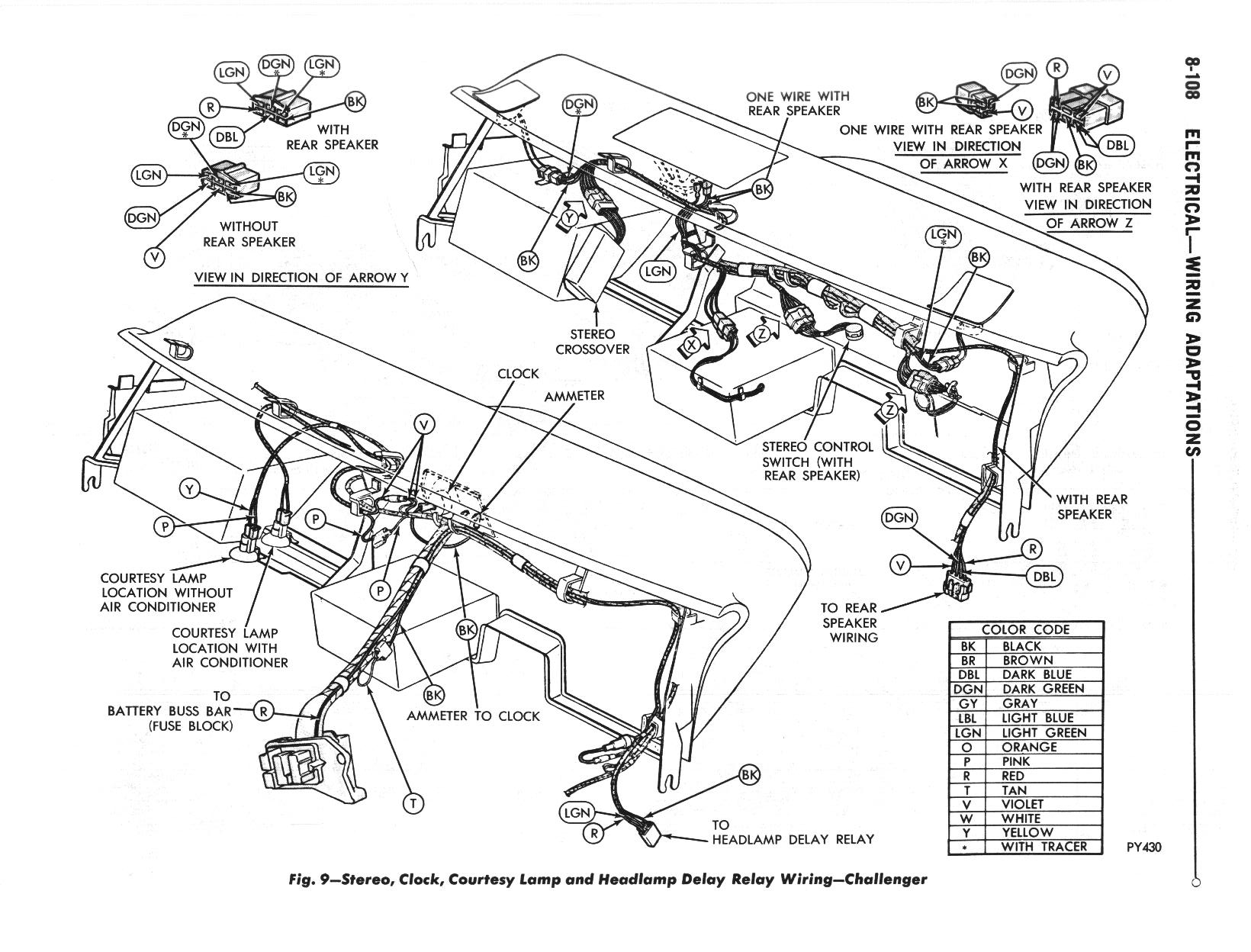 dodge challenger wire diagram
