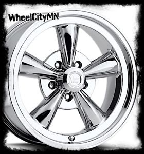 280x300 17 X8 Inch Chrome Legend 141 Wheels Ford Mustang Dodge Charger