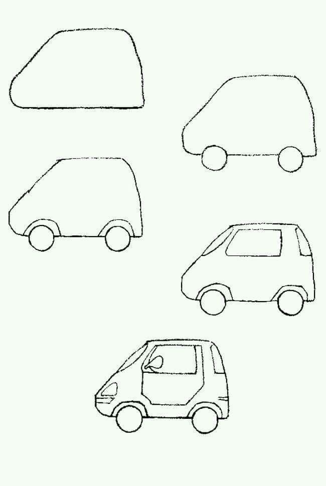 650x970 The Best How To Draw Cars Ideas On Car Drawings
