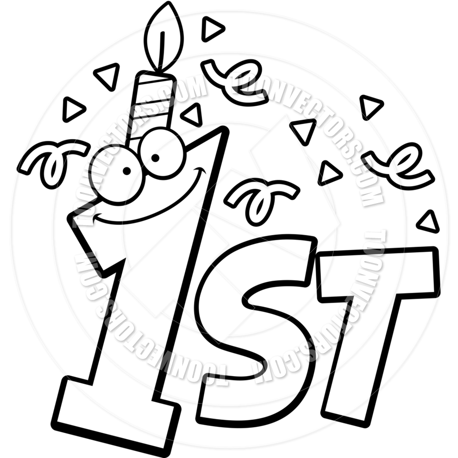 baby 1st birthday coloring pages - photo#7