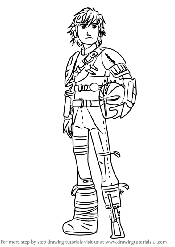 567x800 Learn How To Draw Hiccup Horrendous Haddock Iii From How To Train