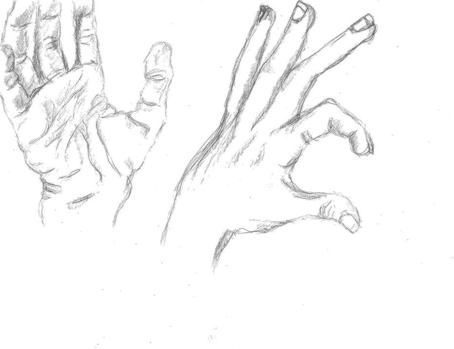 934x718 Sketch Hands