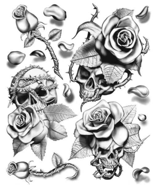 507x600 Hookup Tattoo Filler Rose 2 Scotty's Make Up Amp Beauty