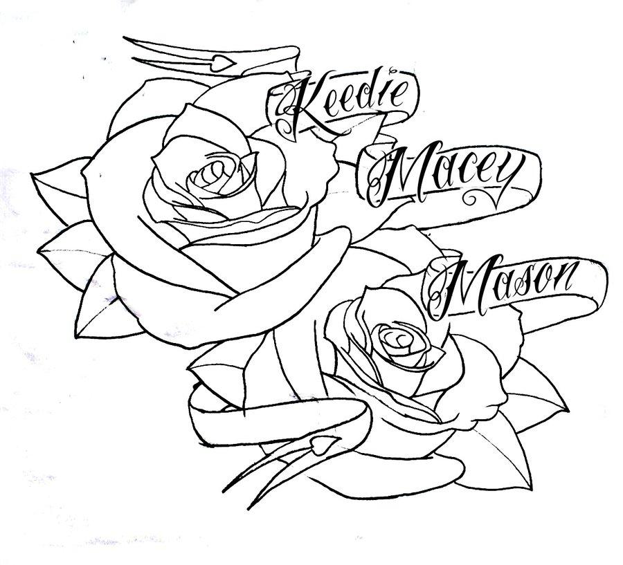 900x817 Roses N Banner By Bmxninja