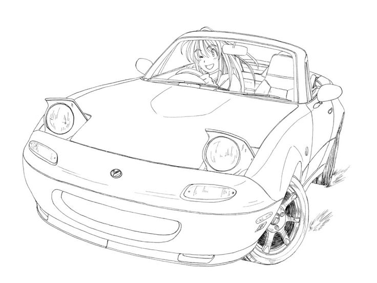 The Best Free Miata Drawing Images Download From 41 Free Drawings
