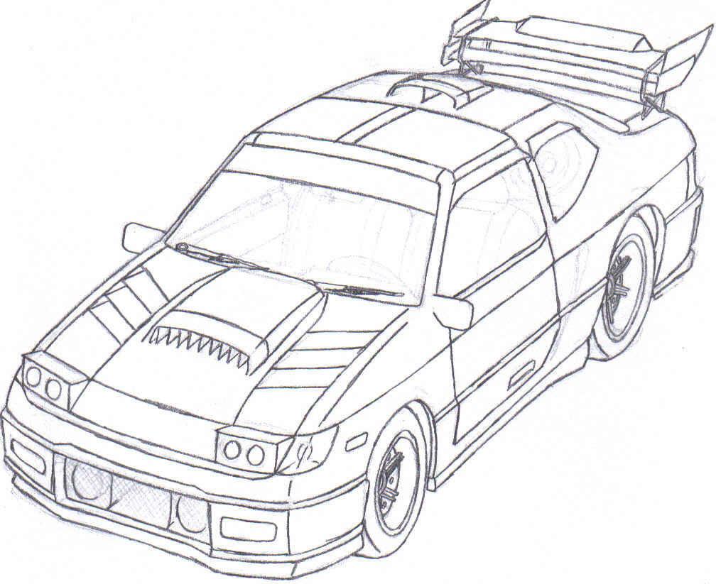 240sx Drawing At Getdrawings