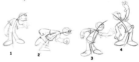 456x203 Posing 2d Animation Principle 2d Animation Principles