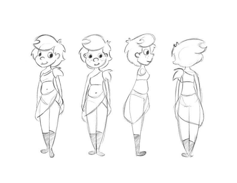2d Character Drawing at GetDrawings com | Free for personal