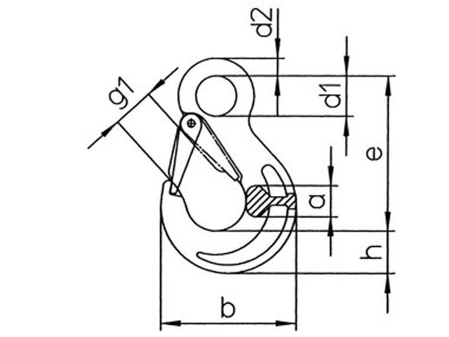 640x480 3d Models Pewag Hsw Eye Sling Hooks