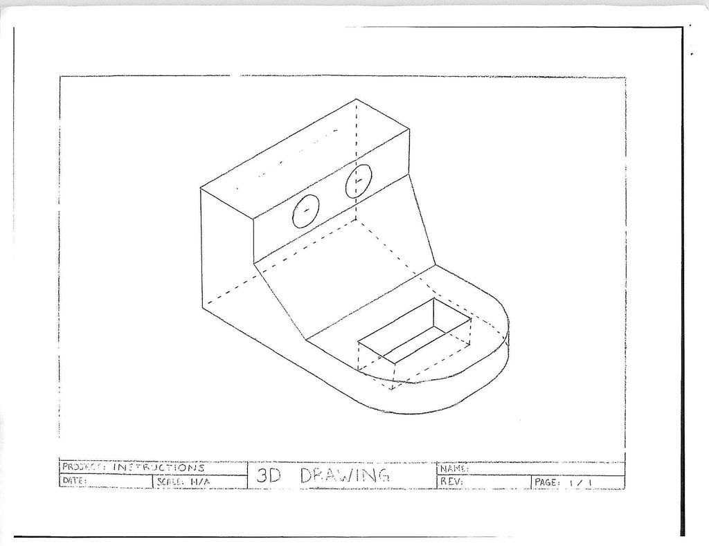 1024x789 Technical Drawing In Three Dimensions 10 Steps
