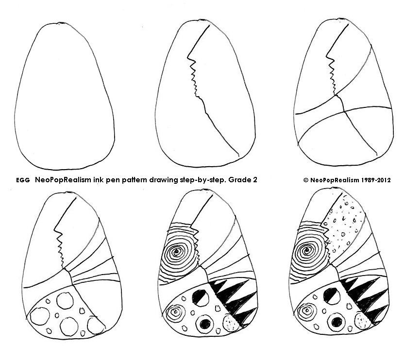 832x714 Curriculum Syllabus. 2nd Grade Neopoprealism Ink Pen Pattern