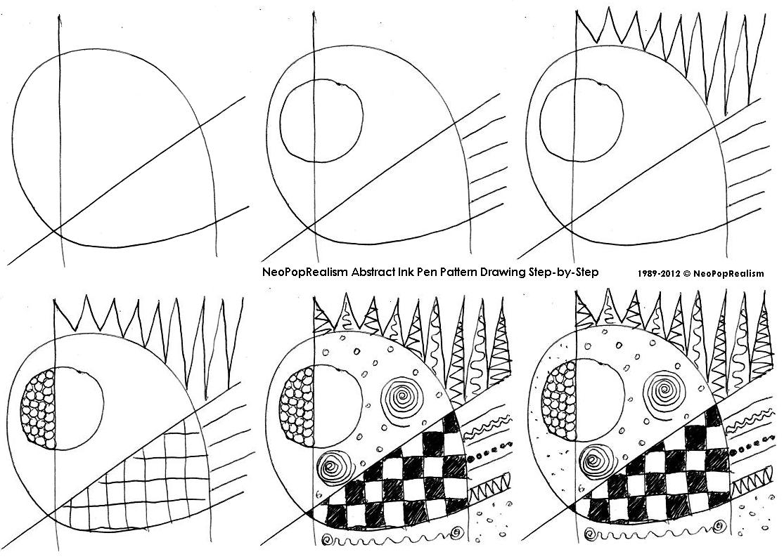 1115x796 Drawing Abstract Art Step By Step Curriculum Syllabus. 2nd Grade