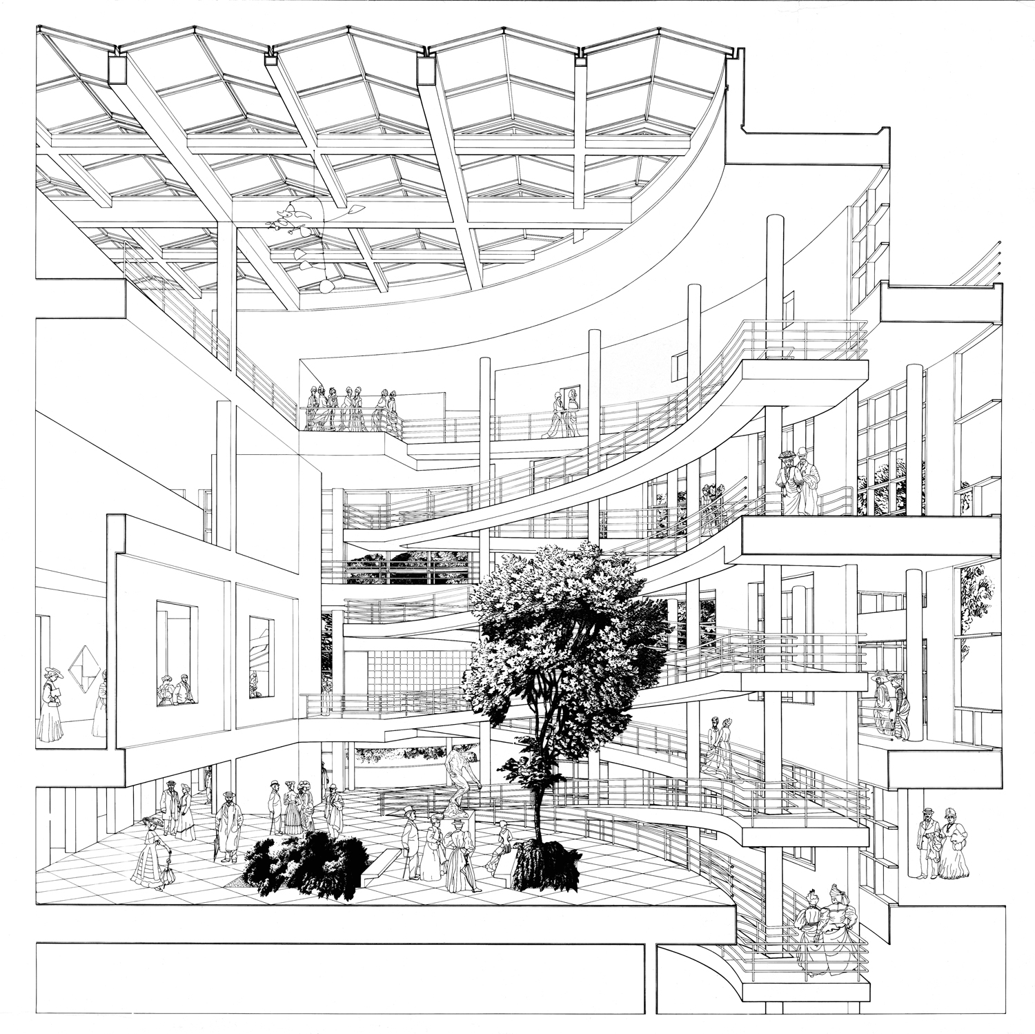 1500x1498 Richard Meier Retrospective To Debut In Mexico City Richard