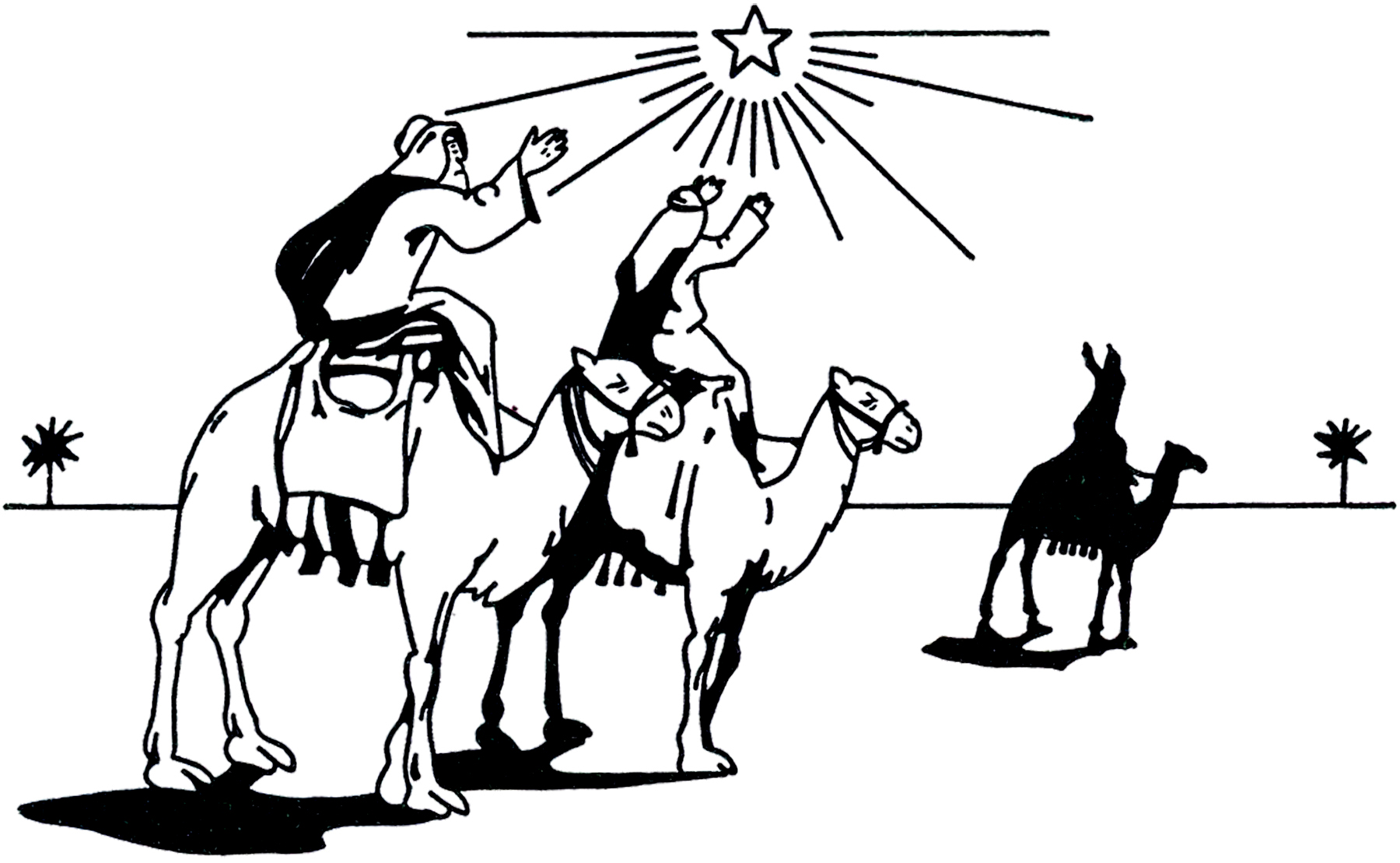 1800x1109 Vintage 3 Wise Men Image