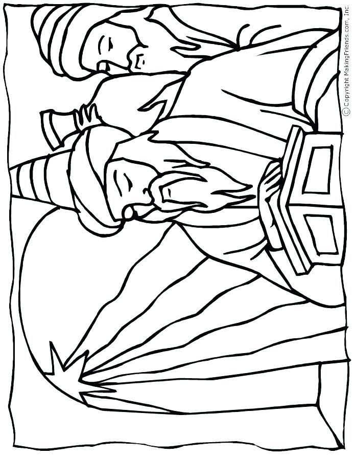 695x893 Wise Men Coloring Pages Coloring Pages Free Online Games Drawing