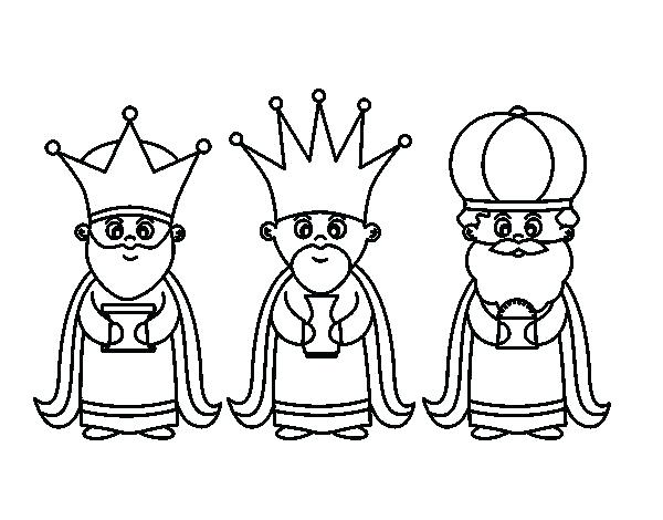 600x470 Wisemen Coloring Page Three Wise Men Clip Art Coloring Page All