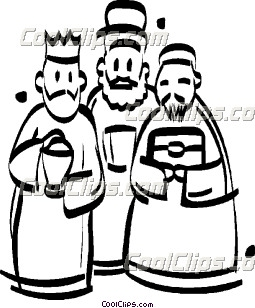 255x308 Three Wise Men Clip Art