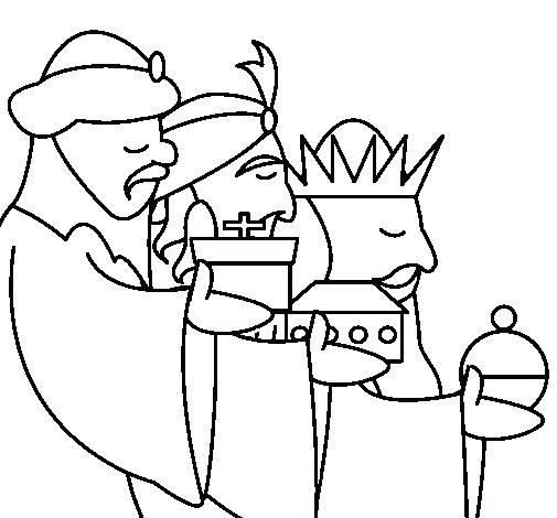 505x470 Three Wise Men Coloring Page Synthesis.site