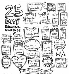 236x256 365 Days Of The Every Day Drawing Challenge Pdf Drawing
