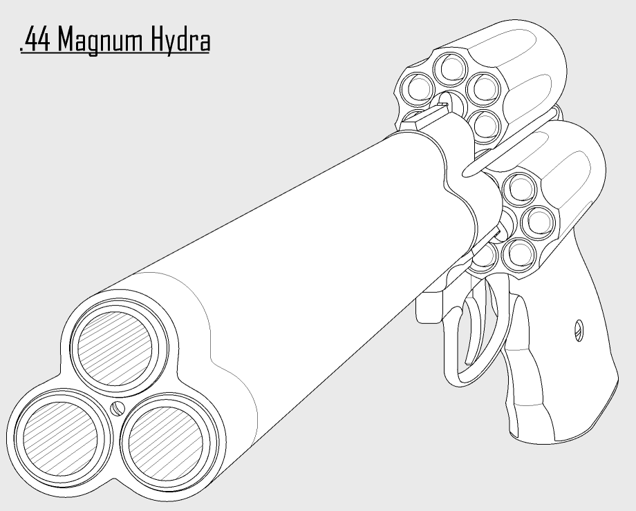 the best free magnum drawing images download from 50 free drawings Old Ruger Parts 920x740 44 magnum hydra by hammerofsilver