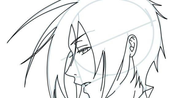 570x320 Anime Drawings Easy How Draw Sebastian From Kuroshitsuji How