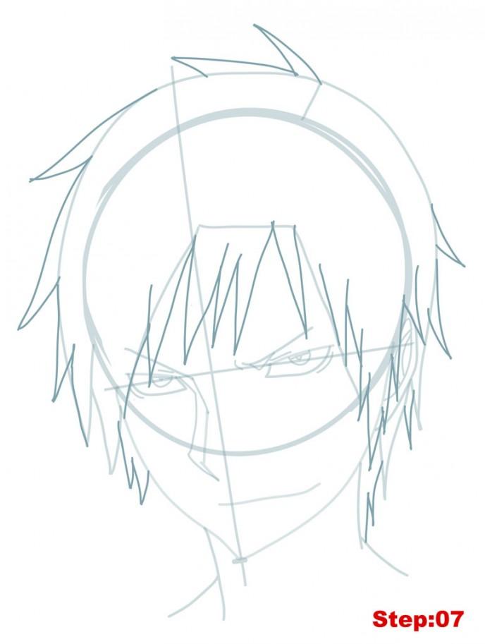 688x913 How To Draw Izaya From Durarara How To Draw Manga 3d Manga