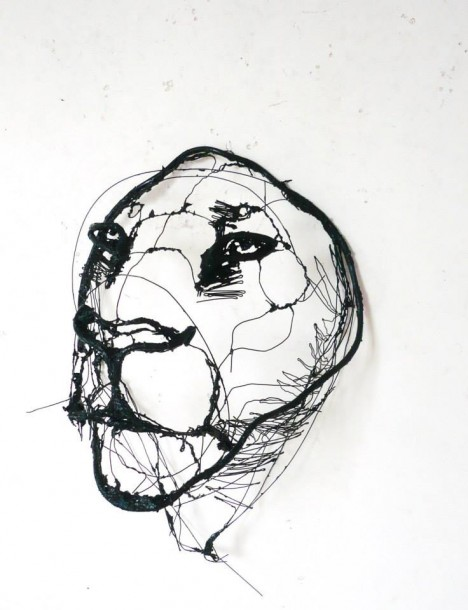 468x610 Drawing With Wire Scribbled Sculptures Make Sketches 3d Urbanist