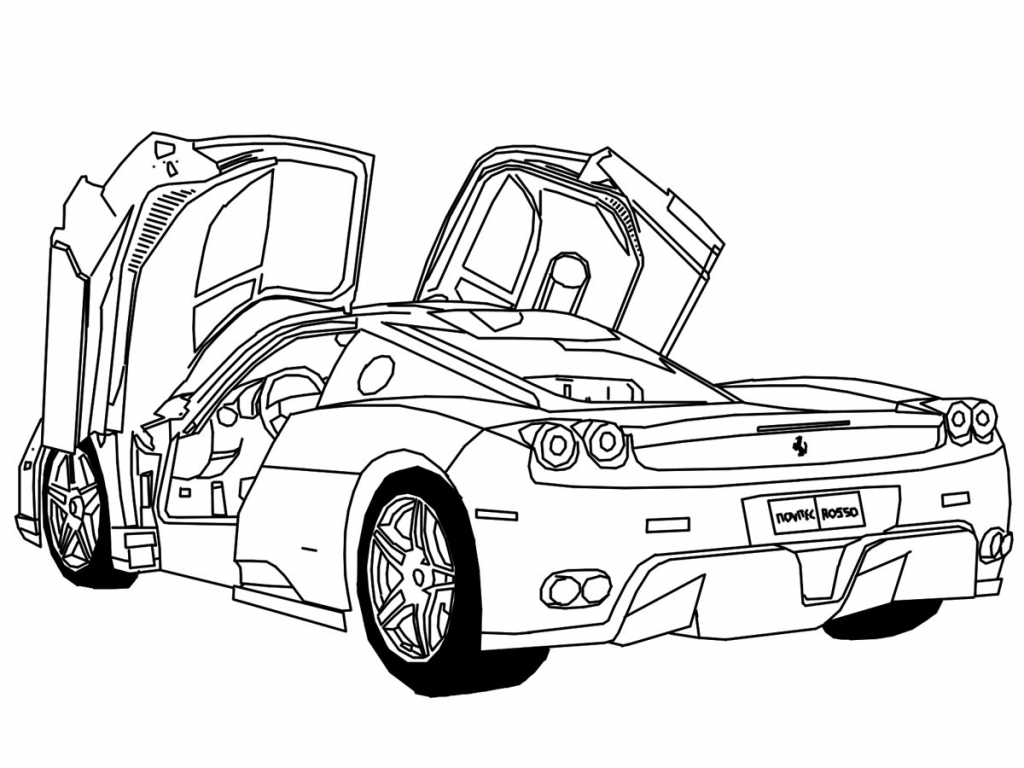1024x768 How To Draw 3d Cars Step By Step How To Draw 3d Cars Stepstep