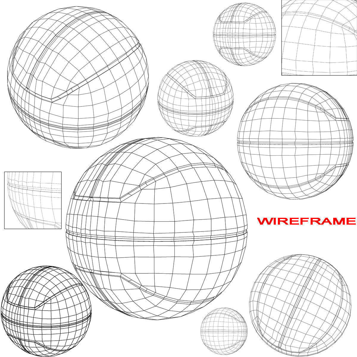 1200x1200 Basketball Ball Euro Bicolor 3d Model Cgtrader