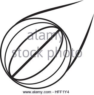 315x320 Ball Basketball Sport Equipment Outline Stock Vector Art