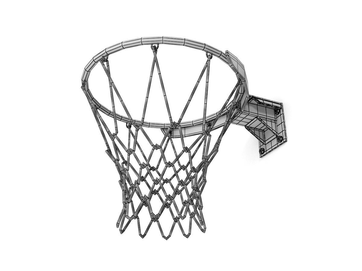 1200x900 Basketball Ring 3d Model Cgtrader