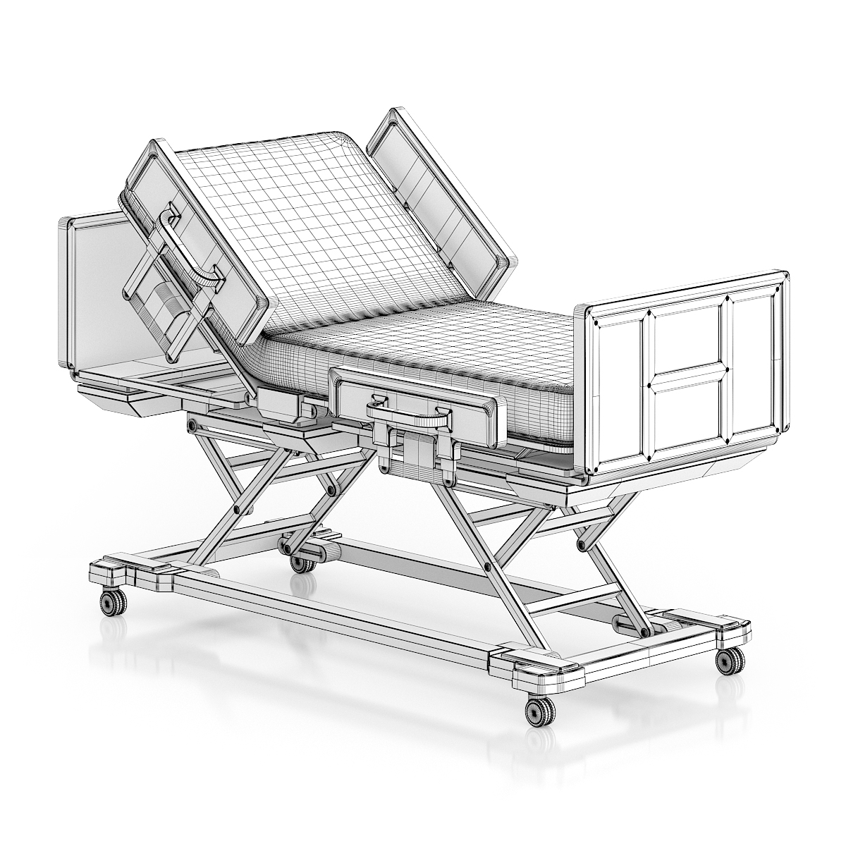 1200x1200 Advanced Hospital Bed