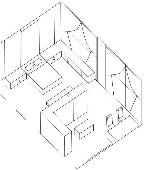 476x550 Collection 3d Drawing Of A Room Photos,